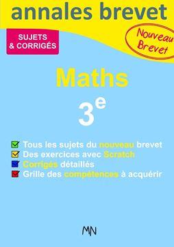 Picture of Annales Maths Nouveau Brevet 3e