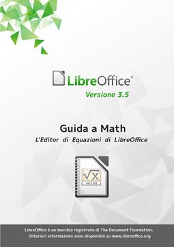 Picture of Guida a Libreoffice Math 3.5