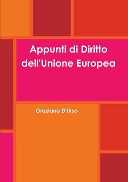 Picture of Appunti di Diritto dell'Unione Europea