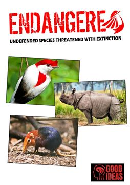 Picture of ENDANGERED - Undefended species threatened with extinction