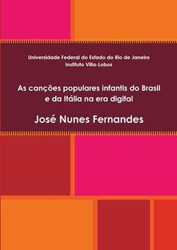 Picture of As canções populares infantis do Brasil e da Itália na era digital