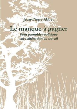 Picture of Le manque à gagner