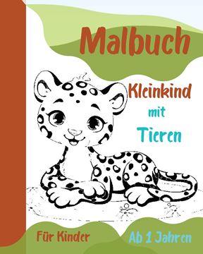 Picture of Malbuch Kleinkind mit Tieren