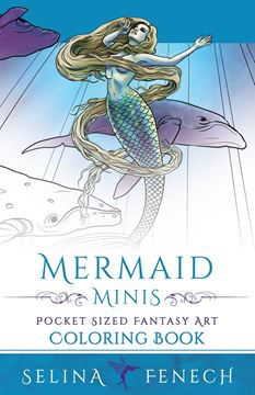 Picture of Mermaid Minis - Pocket Sized Fantasy Art Coloring Book