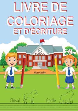 Picture of LIVRE DE COLORIAGE ET D'ÉCRITURE