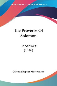 Picture of The Proverbs Of Solomon