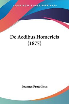 Picture of De Aedibus Homericis (1877)