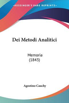 Picture of Dei Metodi Analitici