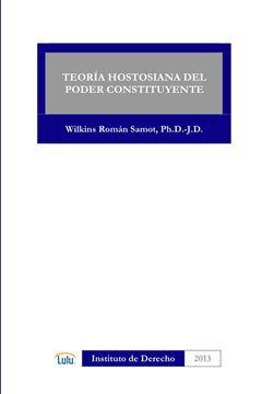 Picture of TEORIA HOSTOSIANA DEL PODER CONSTITUYENTE