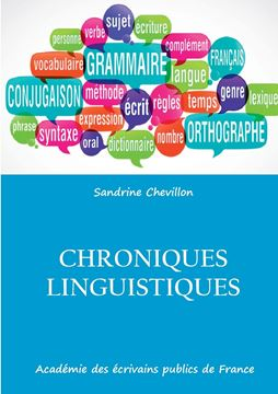 Picture of Chroniques linguistiques