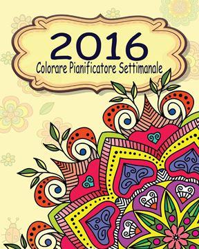 Picture of 2016 Colorare Pianificatore Settimanale
