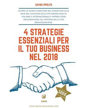 Picture of 4 strategie essenziali per il tuo business nel 2018