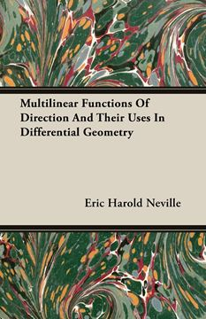 Picture of Multilinear Functions Of Direction And Their Uses In Differential Geometry