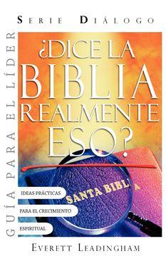Picture of ¿DICE LA BIBLIA REALMENTE ESO? GUIA PARA EL LIDER (Spanish