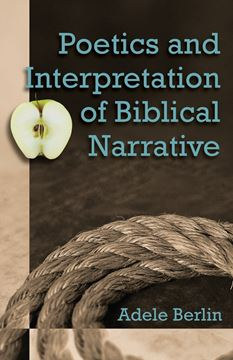 Picture of Poetics and Interpretation of Biblical Narrative