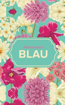 Picture of Adressbuch Blau