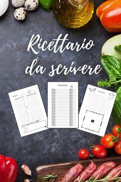 Picture of Ricettario Da Scrivere