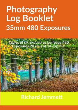 Picture of Photography Log Booklet 35mm 480 Exposures