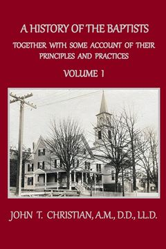Picture of A History of the Baptists, Volume 1