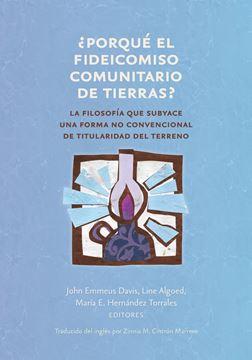 Picture of ¿Porqué el fideicomiso comunitario de tierras?
