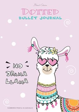 Picture of Dotted Bullet Journal - No Drama Llama