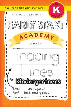 """Picture of Early Start Academy, Tracing Lines for Kindergartners (Backpack Friendly 6""""x9"""" Size!)"""