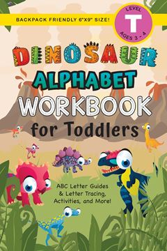 Picture of Dinosaur Alphabet Workbook for Toddlers