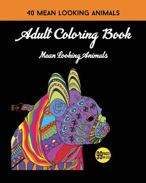Picture of Adult Coloring Book