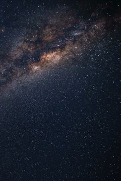 Picture of Milky Way from Uruguay