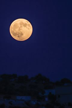 Picture of Full Moon from Syria by Samer Daboul