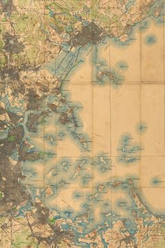 Picture of 1896 Map of the Country About Boston
