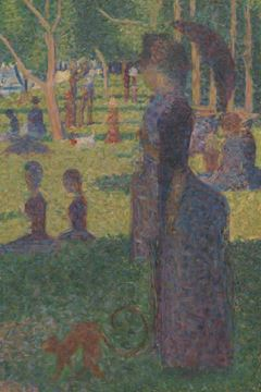 "Picture of Study for ""A Sunday on La Grande Jatte"""
