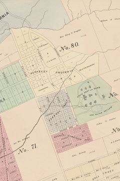 Picture of 1878 Map of Berkeley