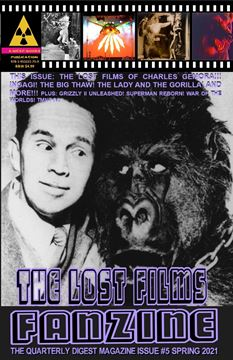 Picture of THE LOST FILMS FANZINE #5