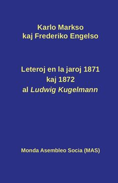 Picture of Leteroj al Ludwig Kugelmann en 1871 kaj 1872