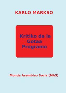 Picture of Kritiko de la Gotaa Programo