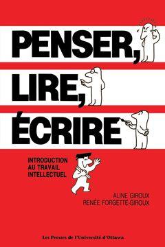 Picture of Penser, lire, écrire