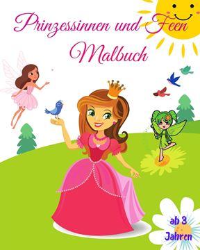 Picture of Prinzessinnen und Feen Malbuch