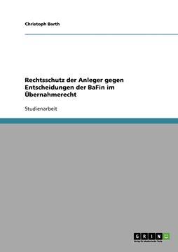 Picture of Rechtsschutz der Anleger gegen Entscheidungen der BaFin im Übernahmerecht
