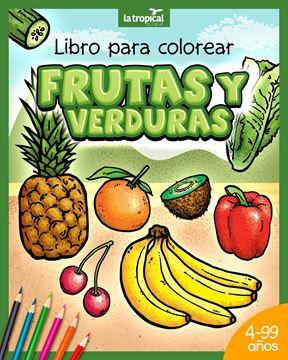 Picture of Libro para colorear Frutas y Verduras