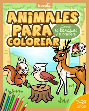 Picture of Animales para Colorear. Conoce el bosque y la pradera
