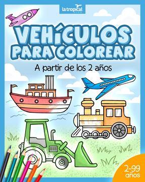 Picture of Vehículos para colorear a partir de los 2 años