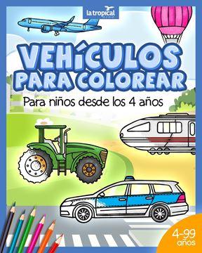 Picture of Vehículos para colorear para niños desde los 4 años