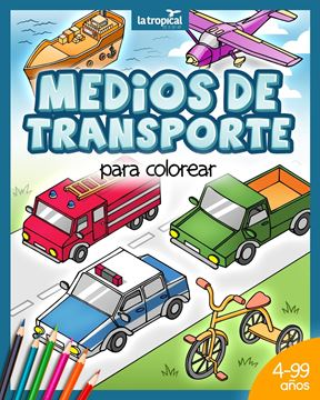Picture of Medios de transporte para colorear