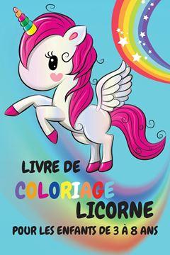 Picture of Livre de coloriage de licorne pour les enfants