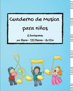 Picture of Cuaderno de Musica para niños