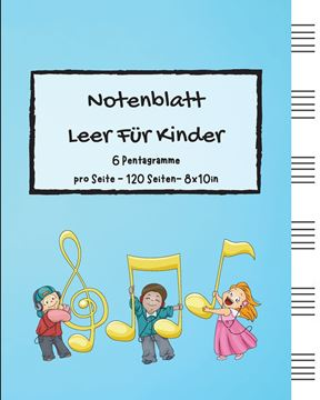 Picture of Notenblatt Leer Für Kinder