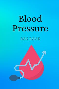 Picture of Blood Pressure Log Book
