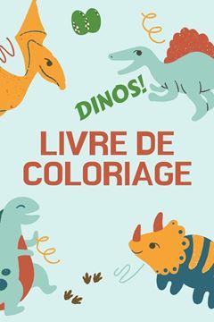 Picture of Dinos! Livre de Coloriage